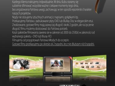 Filmowanie - ciekawe i dynamiczne filmy weselne. Image 2