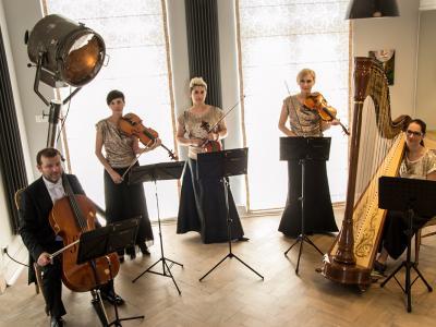 kwartet i harfa
