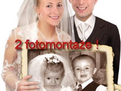 zaproszenia ślubne ze zdjeciem na ślub zabawne fotomontaże Image 2