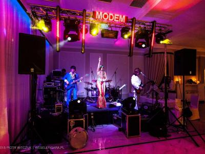 Zespół Muzyczny MODEM na wesele, event firmowy, fotobudka Image 1