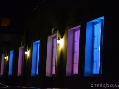 Dekoracyjne oświetlenie sali. Ciężki dym na pierwszy taniec Image 2