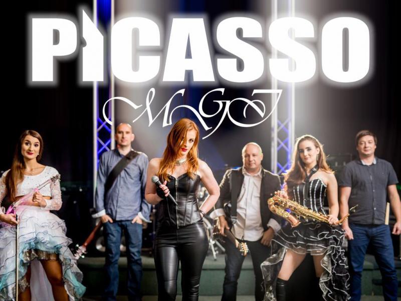 Picasso MGI 6 osób (3+3) 100 % LIVE + Cristal Violin