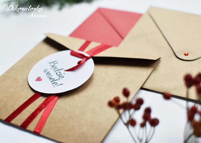 Ręcznie wykonywane, personalizowane zaproszenia i dodatki