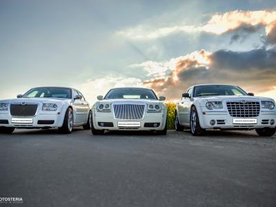 3 x Chrysler 300c (biały i ecru) Slask, Malopolska, Opolskie