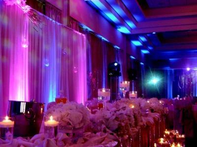 Dekoracje Światłem - oświetlenie na wesele