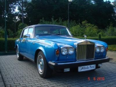 Auto do Ślubu Rolls Royce